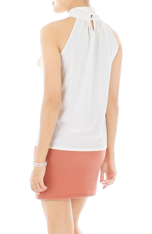 White Eternity LUXE Bow Top