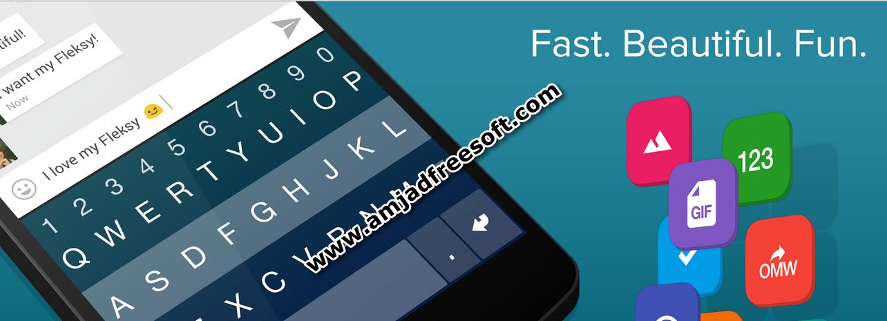 Fleksy Keyboard 5.6 Paid Apk free download [New]
