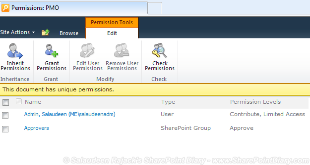 restrict access to sharepoint list views