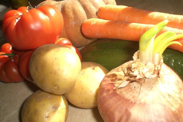 le verdure per la nostra vellutata