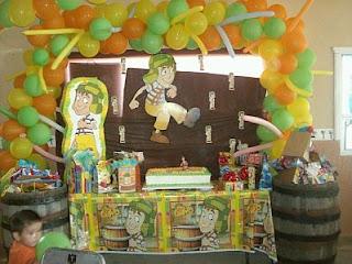 Fiestas Infantiles Chavo del Ocho, parte 1