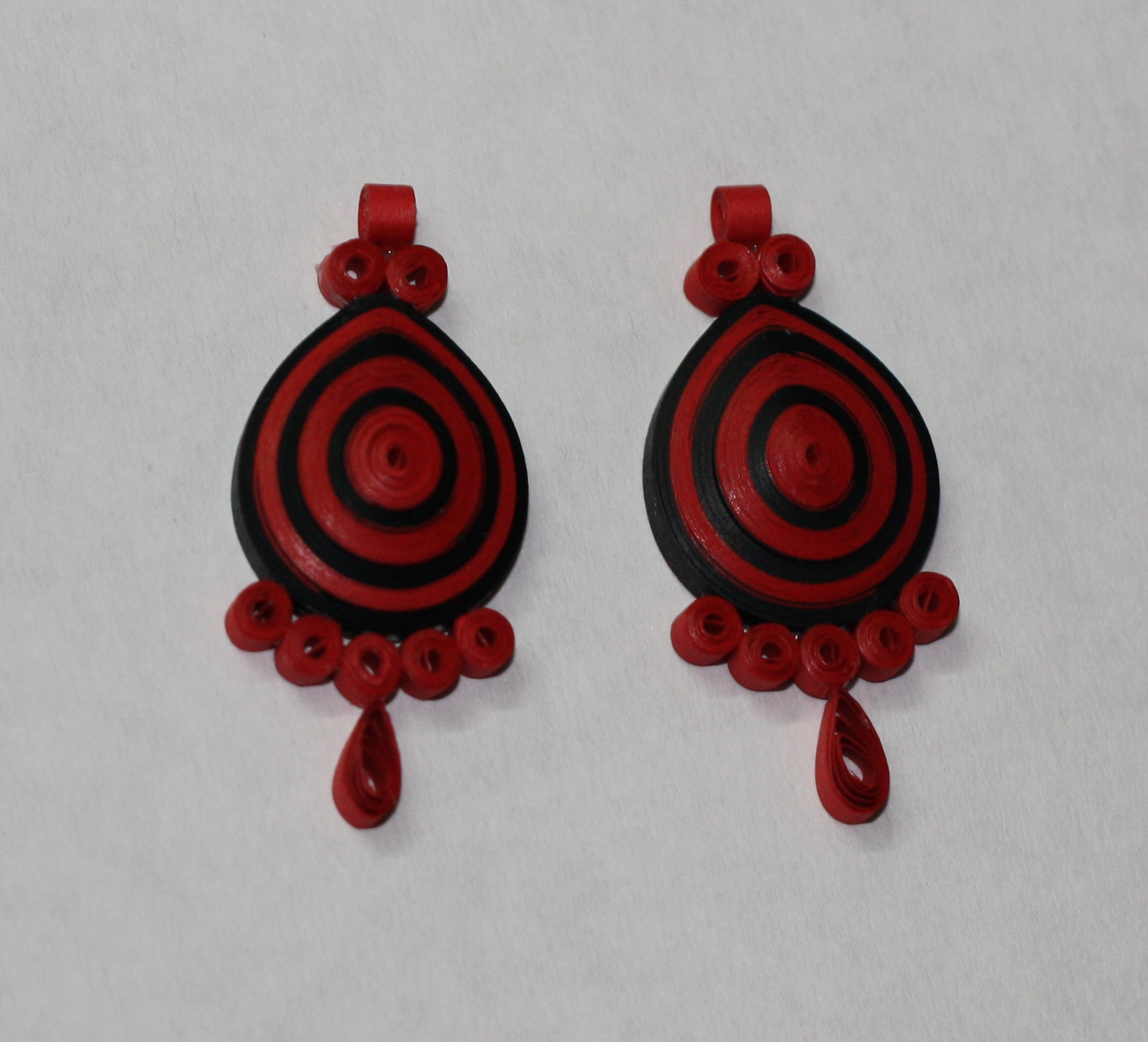 PaperCraftwithAditi: Quilled earrings