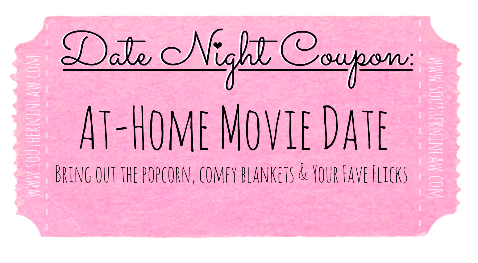 Affordable Date Ideas - Cheap Date Ideas Coupons - Have a movie day at home