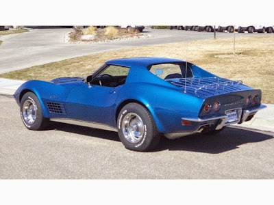 1971 Chevrolet Corvette 454 at Purifoy Chevrolet