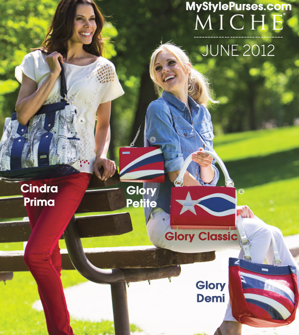 Shop Miche June 2012 Shells - Cindra Prima Shell, Glory Petite Shell, Glory Classic Shell and Glory Demi Shell