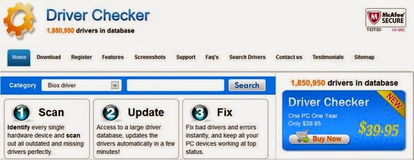 Driver Checker toolkit for complete device driver management