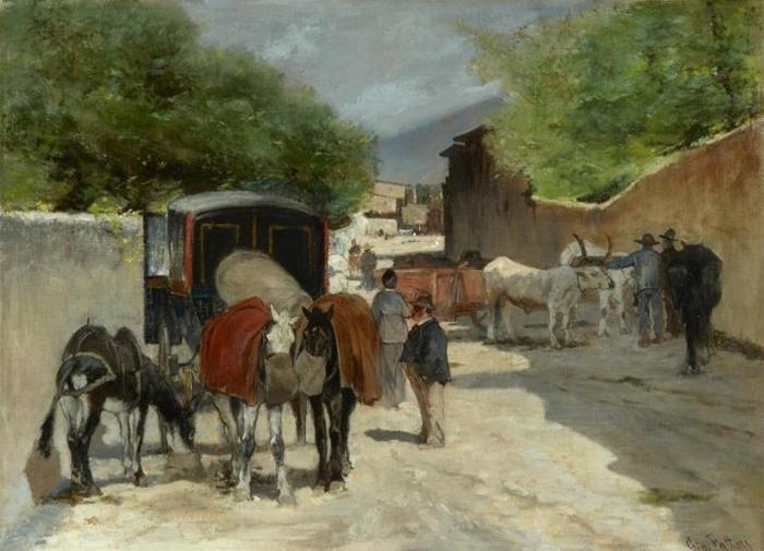 Il Verismo e la pittura degli umili | Il Movimento pittorico dell'800 italiano