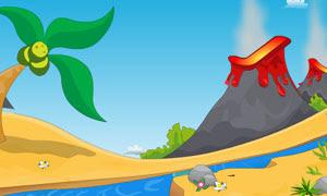 Live Escape Volcano Island