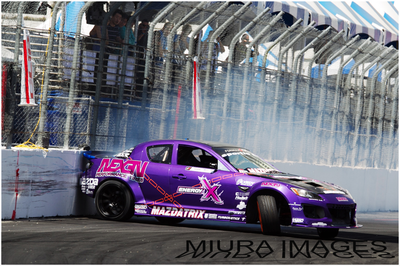 Mazda, Drift, crash