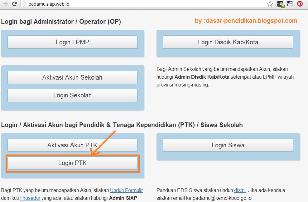 daftar NUPTK http://padamu.siap.web.id
