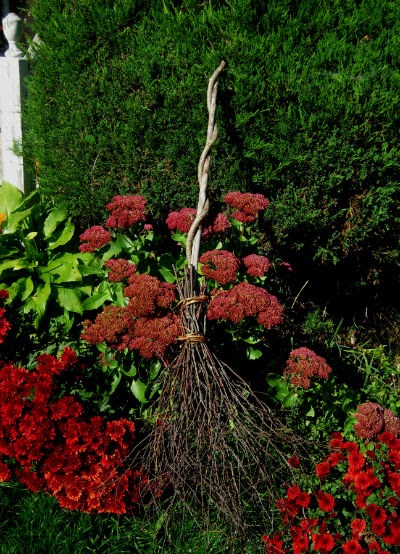 marvelously messy   how to make a besom  witch u0026 39 s broom