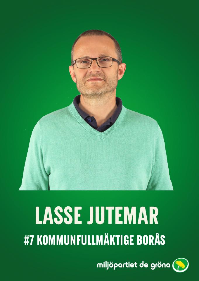 Fullmäktigekandidater - #7 Lasse Jutemar