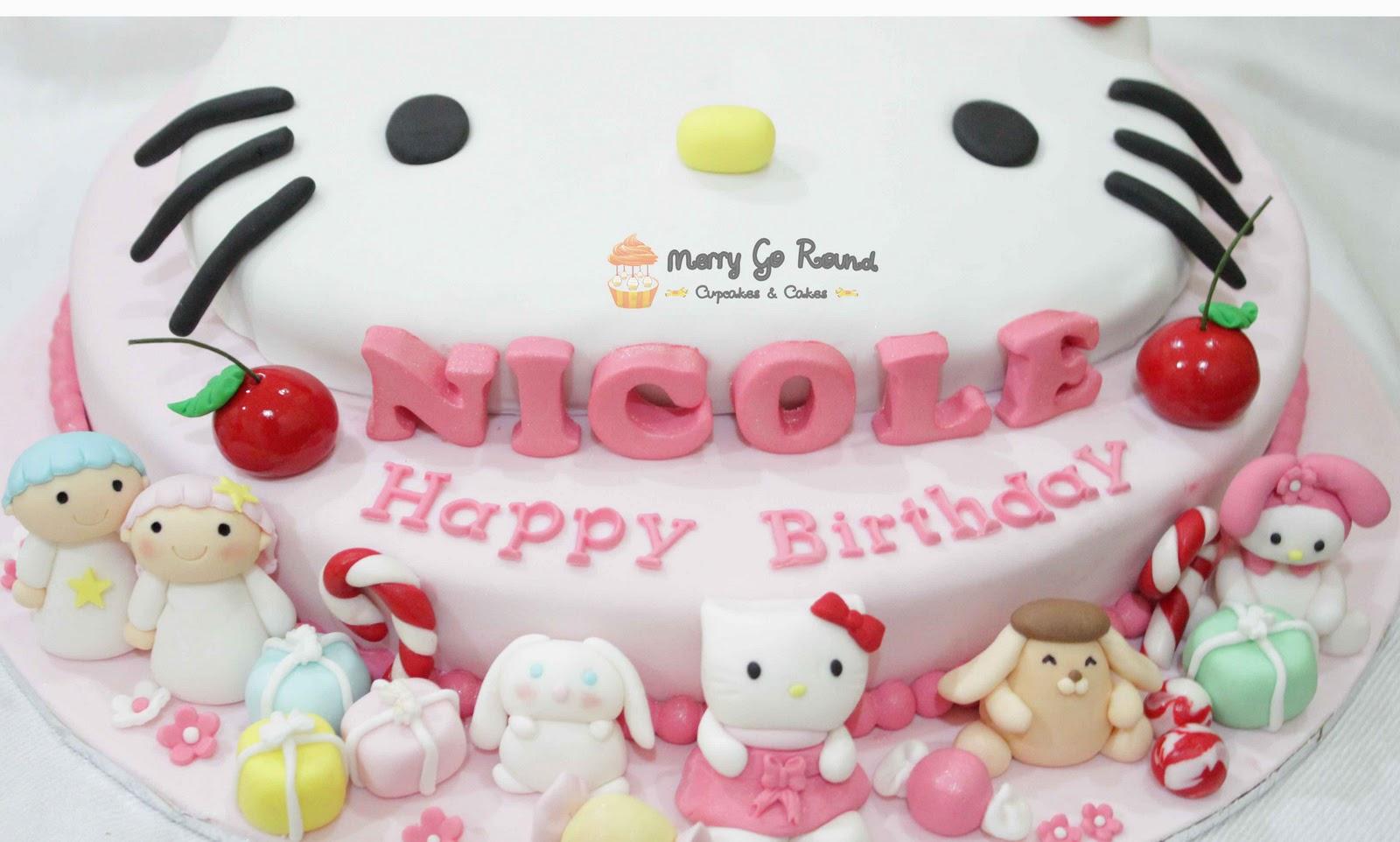 Hello Kitty Merry go Round Merry go Round Cupcakes