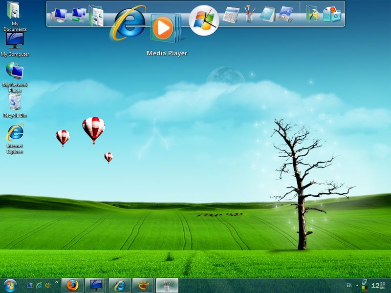 RocketDock screenshot