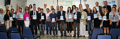 Os contemplados com o troféu Jornalista Sílvia Oliveira 2013