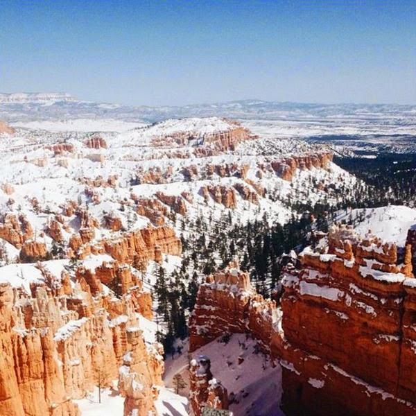 Amber Thrane // Snowy Bryce Canyon