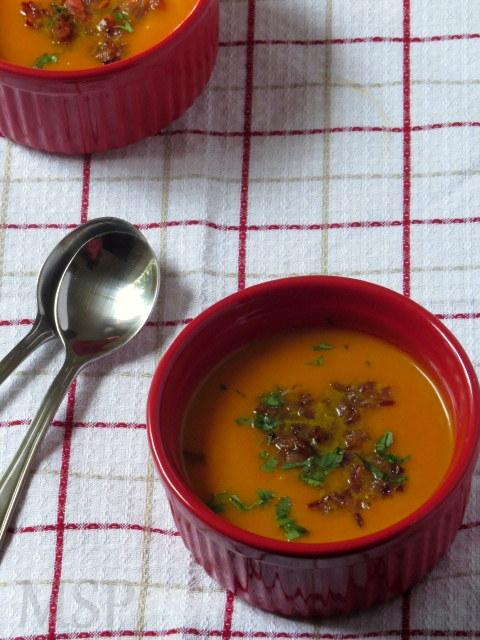 THE MAGIC SAUCEPAN: Gingered Carrot Soup