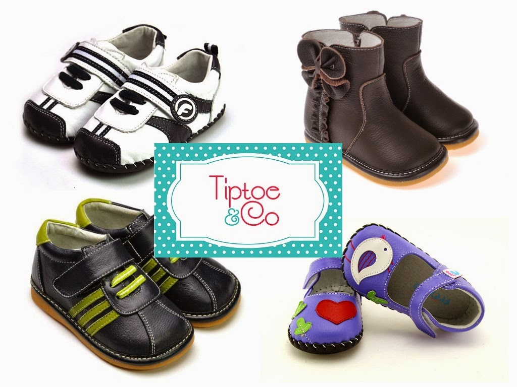 Tiptoe & Co baby and kids leather shoes