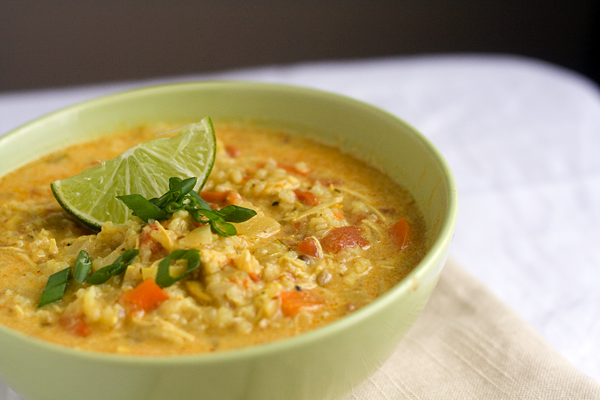 TASTY TRIX: Spicy Chicken and Rice Mulligatawny Soup