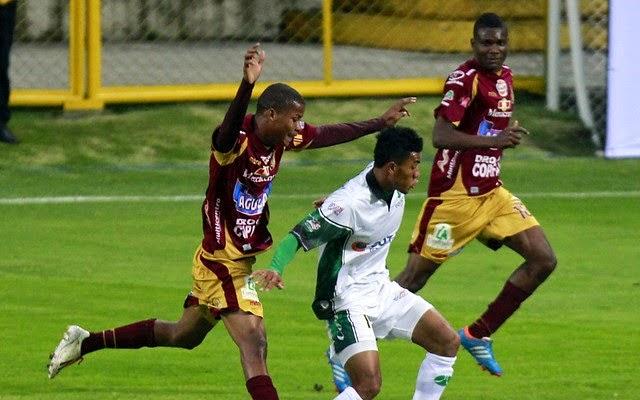Deportes Tolima vs Equidad en vivo