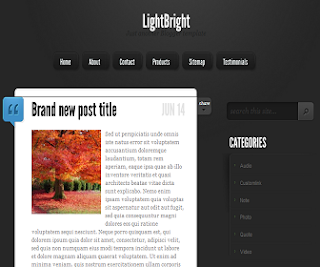 LightBright+Blogger+Template