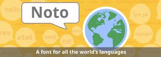Google Noto project logo