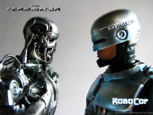 Terminator VS Robocop por phobia