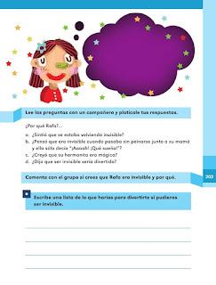 Apoyo Primaria Español 1er grado Bimestre 5 lección 13 Rafa regresa a casa