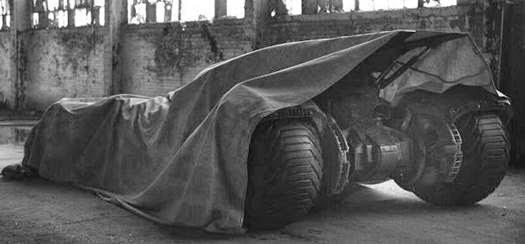 MAN OF STEEL Sequel: Batmobile Tease