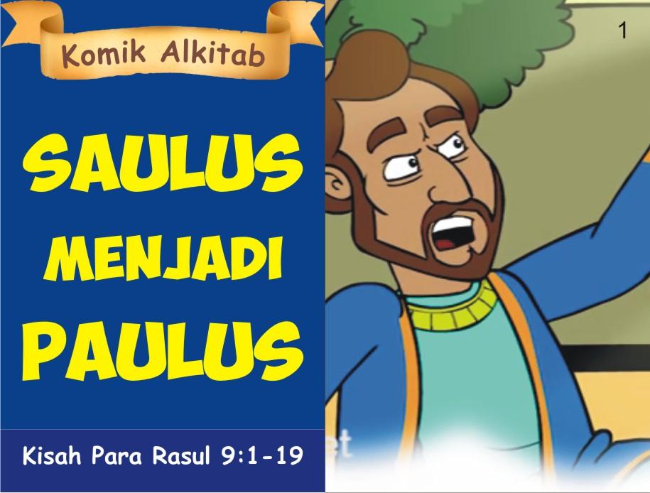Saulus Menjadi Paulus