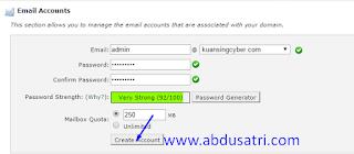 membuat email dengan domain sendiri