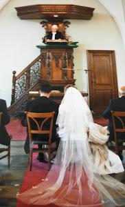Onze bruiloft in 2003