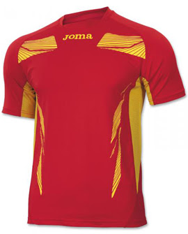 camiseta competición atletismo Joma