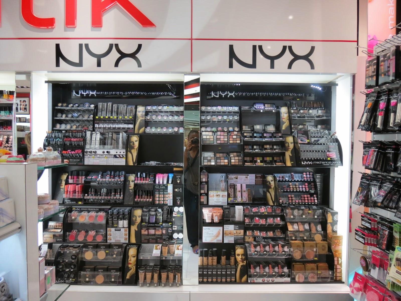 NYX, Barcelone, Espagne, voyage, carnet de voyage, Barcelona, beauté, mode, boutiques