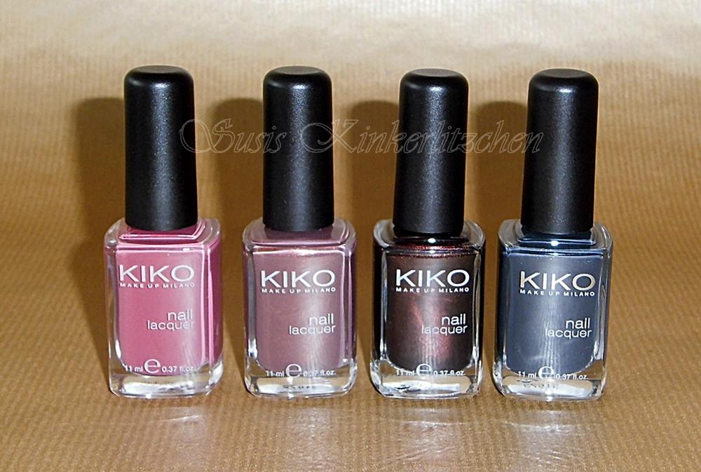 Susis kinkerlitzchen mein nagellack k rbchen im april for Kiko 365 tattoo rose