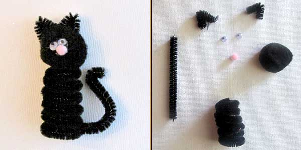 How To Make A Cat Tail Costume With Pipe Cleaners