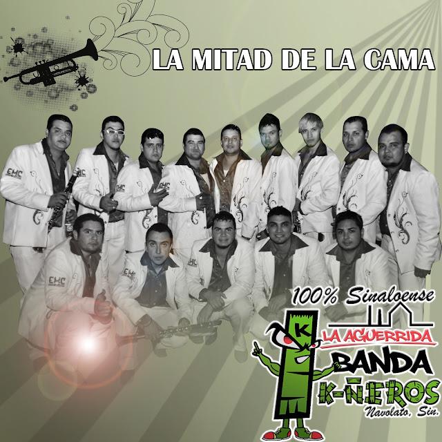 La Aguerrida Banda K-ñeros - La Mitad De La Cama CD Album 2013