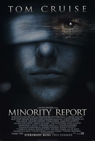 Poster Of Minority Report In Dual Audio Hindi English 300MB Compressed Small Size Pc Movie Free Download Only At worldfree4u.com
