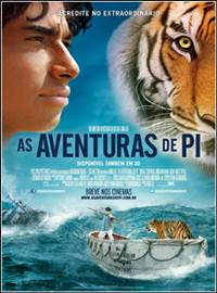 As Aventuras de Pi Dublado Rmvb + Avi Dual Áudio DVDScr + Torrent
