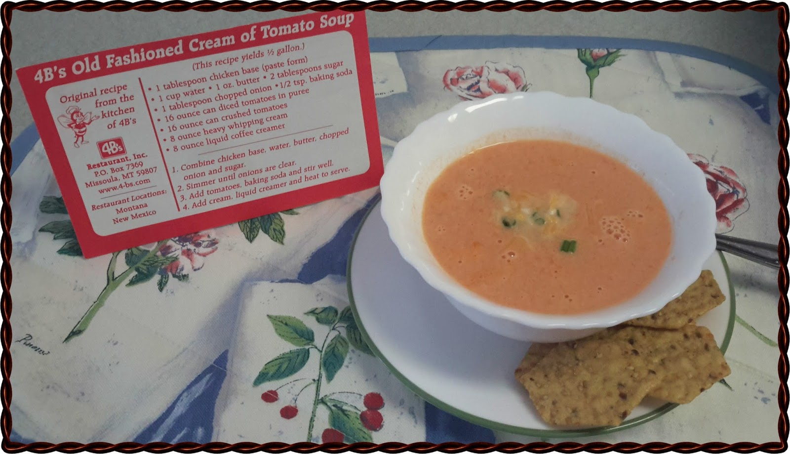 happiness and macaroni soup