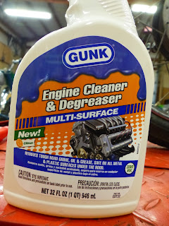 OldMotoDude: Gunk Multi-Surface Engine Cleaner and Degreaser -- Works Great