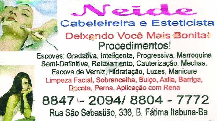 NEIDE SALÃO