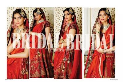 Sonam Kapoor's Photoshoot for The Hindu Bridal Mantra ad