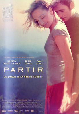 leaving film, partir, kristen scott thomas, sergi lopez, film review