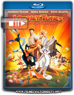 Looney Tunes - De Volta á Ação Torrent - BluRay Rip 1080p Dual Áudio 5.1