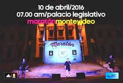 Maratón de Montevideo 2016 será Campeonato Sudamericano de 42k (10/abr/2016)