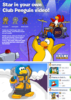 Club Penguin Music Jam 2011 Miniclip Contest