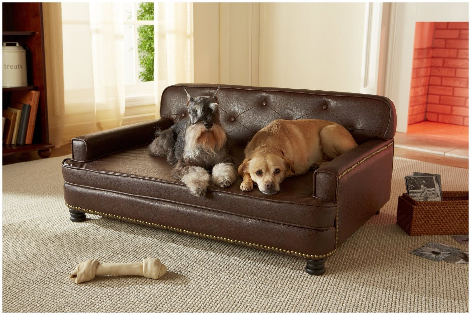total fab luxury designer dog beds for small and large dogs. Black Bedroom Furniture Sets. Home Design Ideas