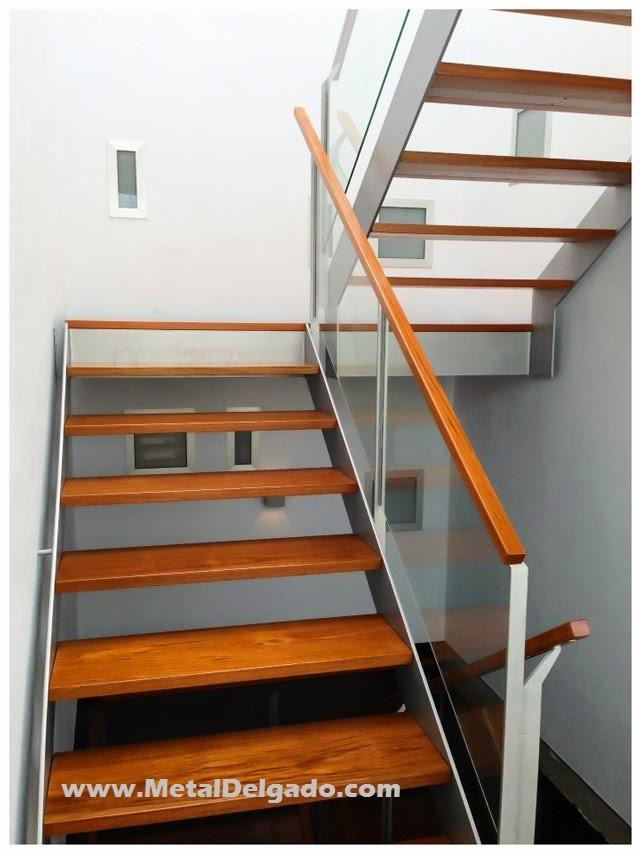 Acero inoxidable tenerife escaleras met licas de interior - Escaleras rusticas de interior ...