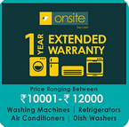 Amazon : Buy Large Appliance and Electronic Item and get extended warranty at Rs.99 only
